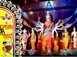 Naktala Udayan Sangha S Life Death Theme Durga Puja Has Created Huge Curiosity