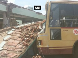 Killed More Feared Trapped As Bus Stand Collapses Tamil Nadu S Coimbatore