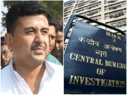 Tmc Minister Shuvendu Adhikari Appears At Cbi Office Narad Case