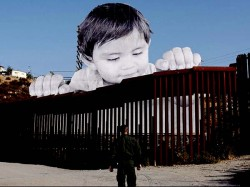 After Donald Trump Signed Daca Orders This Artwork At Us Mexico Wall Makes News