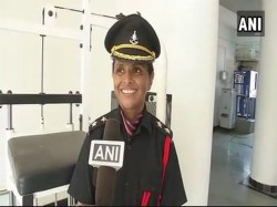 Swati Mahadik Wife Slain Colonel Santosh Joins Indian Amry As Lieutenant