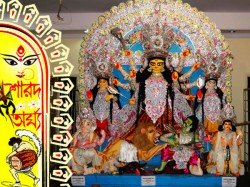 Durga Puja Singha Majumdar Family Howrah Is Continued With Harmony