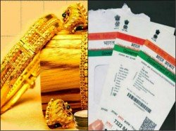 After Pan Now Aadhar Mandatory Buying Gold