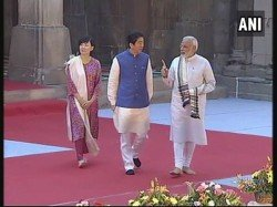Warm Welcome Shino Abe Is First Its Kind India