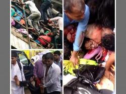 Opposition Slams Bjp Stampede Elphinstone Station Mumbai