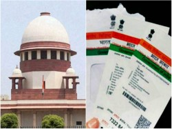 Sc Gives Center 4 Weeks Time Reply On Aadhar Mobile Linkage