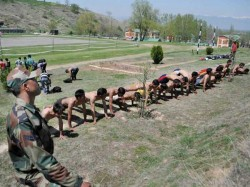 Over 1800 Candidates Appear Enrolment Army From Districts Jammu Kashmir
