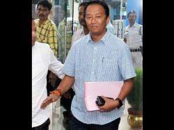 Binoy Tamang Is Aggressive Against Bjp President Dilip Ghosh