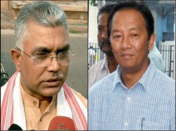 Bjp State President Dilip Ghosh Goes Hill Tour After Withdraw Strike