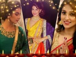 Tollywood Bollywood Actresses Celebrates Diwali See Pics