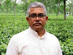 Dilip Ghosh Goes Sikim Prospects Meeting With Bimal Gurung