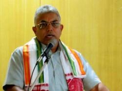 Dilip Ghosh Complains That Tmc Is Plotting Kill Bimal Gurung