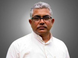 Bjp State President Dilip Ghosh Is Prevented At Tarkeswar Temple