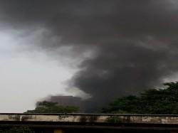 Fire Broke In Closed Ice Cream Factory Khiddirpore Area Kolkata