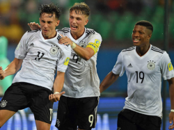 Germany Thrashes Colombia Reaches Last Eight U 17 World Cup Match