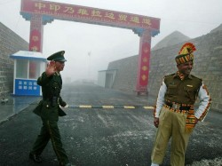 China Starts Road Construction 10km From Face Off Site