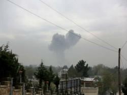 Blast Rocks Kabul S Diplomatic Zone 13 Dead