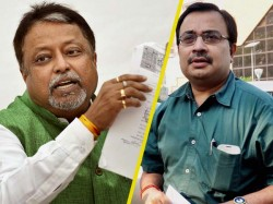 Sunpended Tmc Mp Kunal Ghosh Speaks Against Mukul Roy