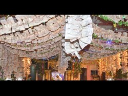 Inside Madhya Pradesh Temple Decorated With Nearly Rs 100 Crore Cash