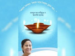 Mamata Banerjee S Tweet On Kali Puja Deepavali