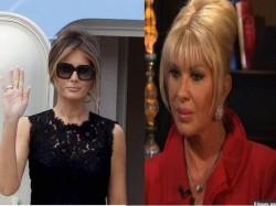 First Lady Fight Between Ivana Melania Trump Usa Donal Trump Usa