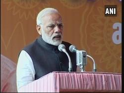 Modi Bats Debate On Democracy Within Political Parties