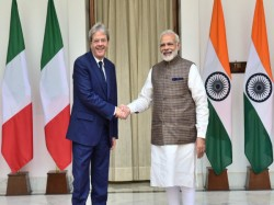 India Italy Are Committed Fight Unitedly Against Terror Says Pm Modi Paolo Gentiloni