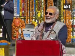 Modi Lashed At Congress Over Reconstruction Kedarnath