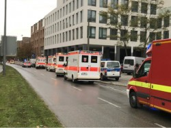 Knife Attack At Munich Train Station Germany Left Several Injured