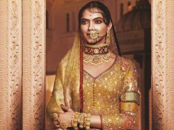 A 30 Kg Lehenga 400 Kg Gold Went Into The Making Deepika As Padmini