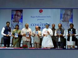 Pranab Mukherjee S Stage Indicates New Alliance Against Bjp