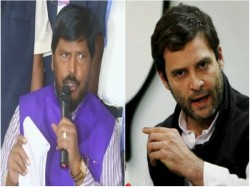 Rahul Gandhi Should Marry Dalit Girl Says Union Minister Athawale