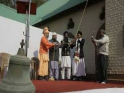 Religious Communities Come Together Ring Bell At Age Old Church Srinagar