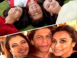 Shah Rukh Khan Posts Pic With Kajol Rani Mukerji Makes Fan Crazy