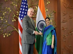 Sushma Swaraj Discusses H1b Visa Issue With Rex Tillerson