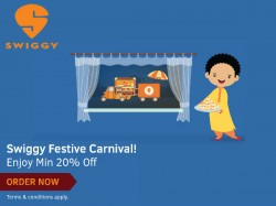 Day Night Food Delivery Opt Swiggy Now Get 20 Cashback