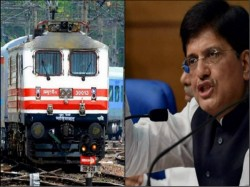 Indian Railways Working Towards 100 Electrification Says Railway Minister Piyush Goyal