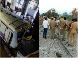 Train Accident At Panskura South Eastern Railway Clash Between Two Local