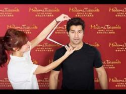 Varun Dhawan S Wax Figure Being Readied Madame Tussauds Hong Kong