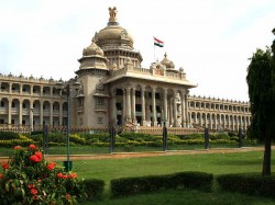Karnataka Plans Mid Day Meals Keep Lawmakers Assembly