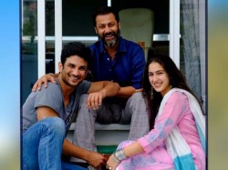 Sara Ali Khan Bold Her Fan With Her First Look Kedarnath On