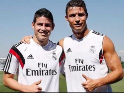 Cristiano Ronaldo Is The Man Behind James Rodrigez S Love Li