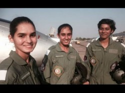 First Three Women Fighter Pilots From Airforce Are Set Script History From November