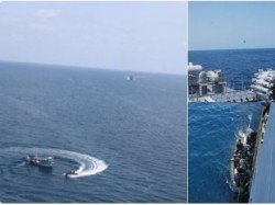 Navy Warship Ins Trishul Prevents Pirate Attack On Indian Ship Gulf Aden