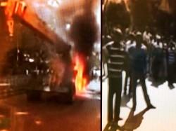Locals Set Fire Crane After It Knocked Down Class Six Student Beleghata