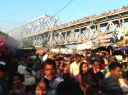 Four Pilgrims Are Died Being Stampede At Simria River Ghat Bihar