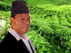 He Will Come Hill Poster Favour Bimal Gurung Creates Chaos Darjeeling