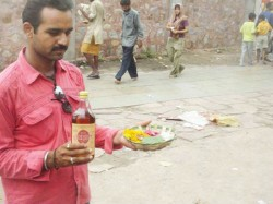 Liquor Not Be Distributed As Prasad At Bhairon Temple Delhi