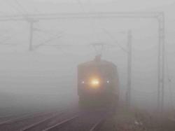 Delhi Fog Disrupts Train Service