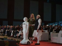 Ivanka Trump Narendra Modi Inaugurates Ges